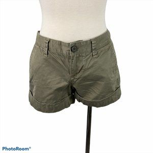 4/$30 🌿 OLD NAVY Low Rise Green Cargo Shorts